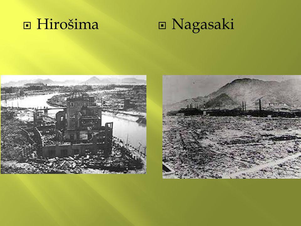  Hirošima  Nagasaki