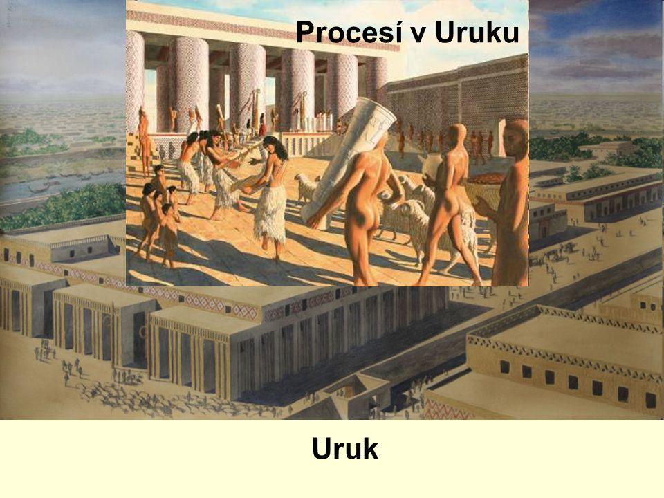 Uruk Procesí v Uruku