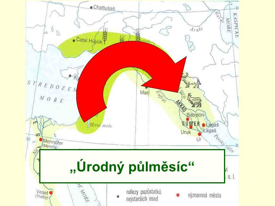 Starobabylonská říše (1900-1600 př.n.l.) Největší rozmach za vlády Chammurabiho
