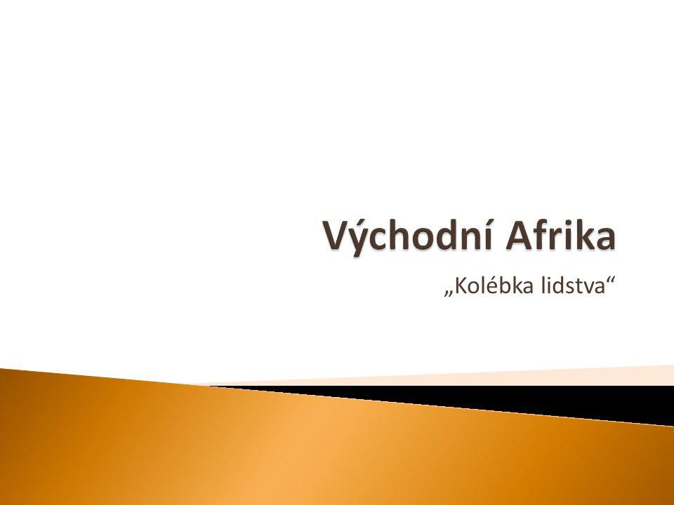  území na východě Afriky, ohraničené Etiopskou vysočinou na severu, rozvodím Konga na západě, 10° j.
