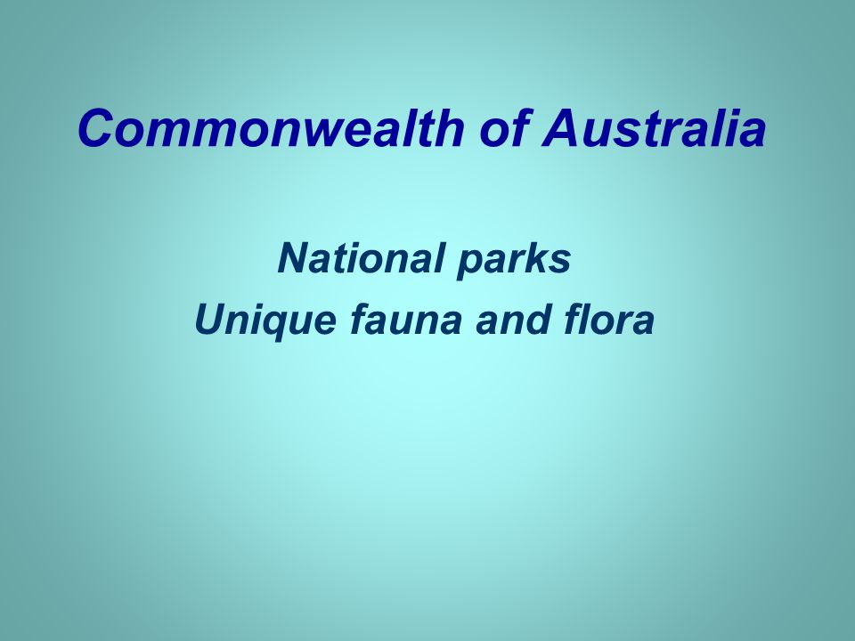 National parks more than 2 000 national parks and natural reserves, e.g.: The Great Barrier Reef The Ayers Rock (= Uluru) The 12 Apostles