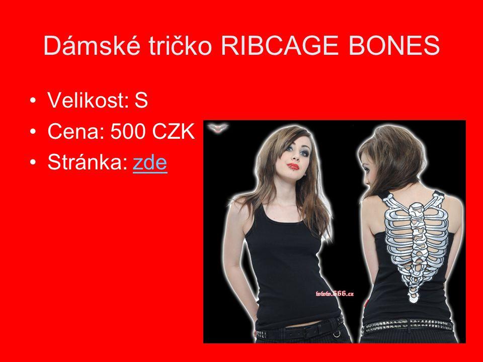Dámské tričko RIBCAGE BONES Velikost: S Cena: 500 CZK Stránka: zdezde