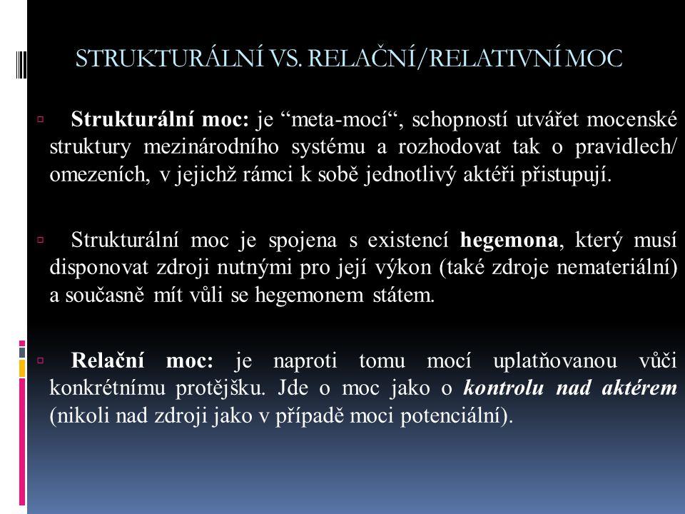 STRUKTURÁLNÍ VS.