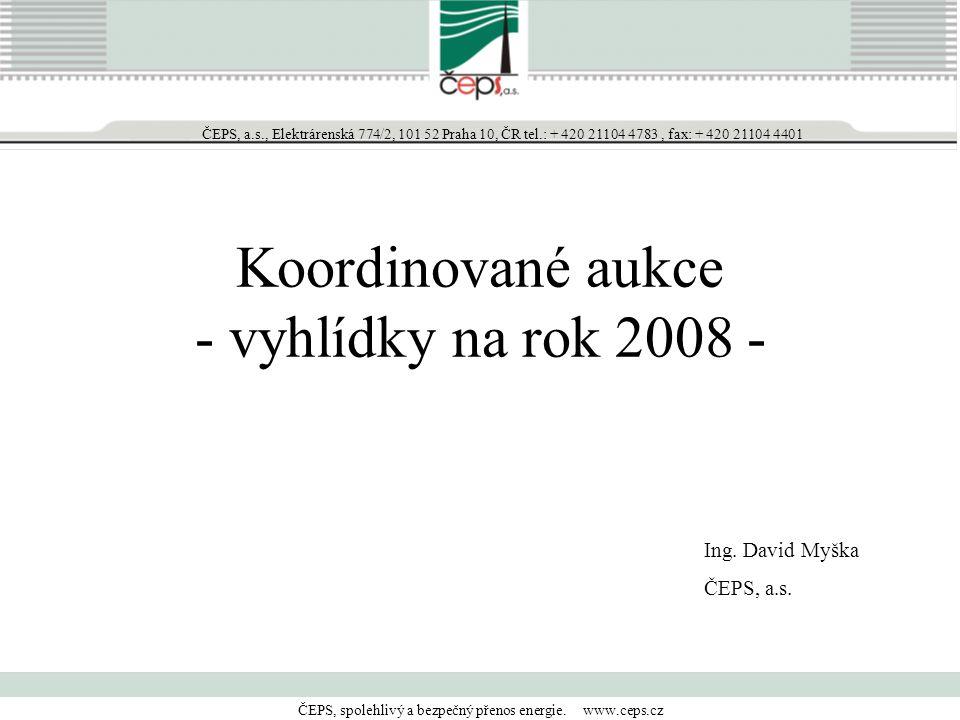 ČEPS, spolehlivý a bezpečný přenos energie. www.ceps.cz ČEPS, a.s., Elektrárenská 774/2, 101 52 Praha 10, ČR tel.: + 420 21104 4783, fax: + 420 21104