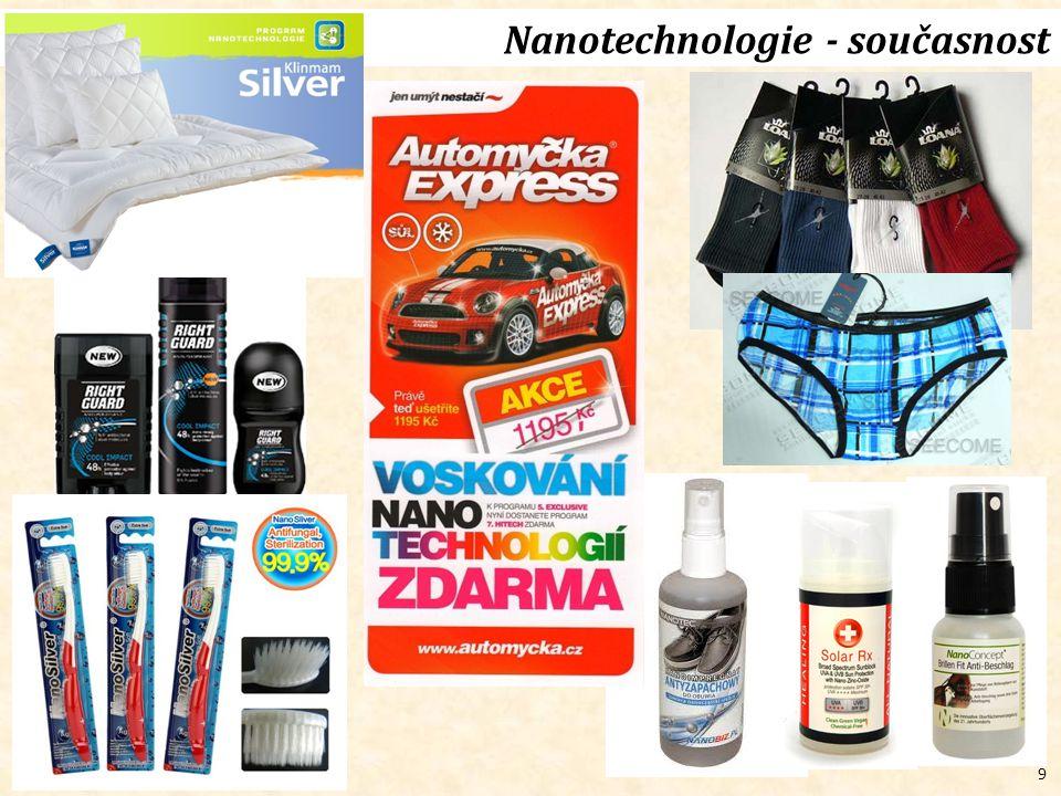 9 Nanotechnologie - současnost
