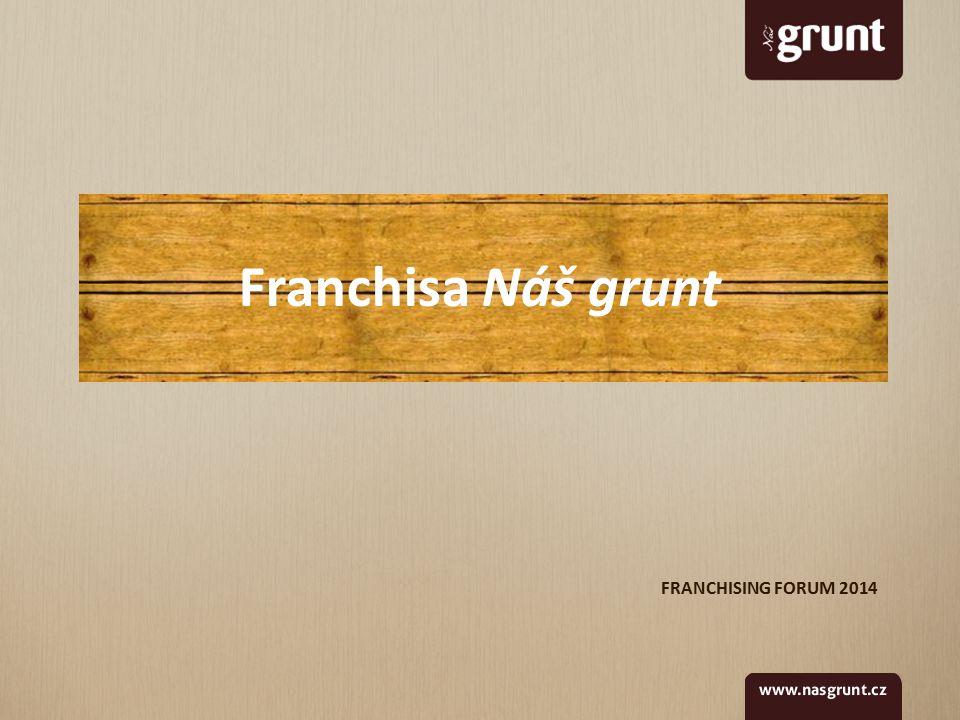 FRANCHISING FORUM 2014 Franchisa Náš grunt