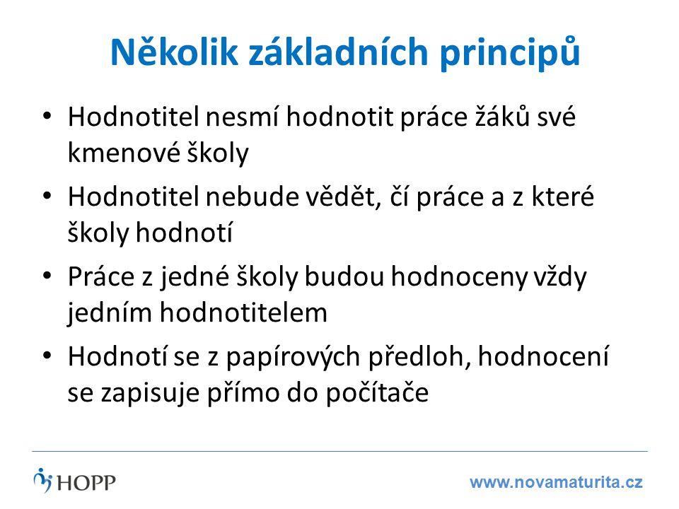www.novamaturita.cz Méně hodnotitelů Delší doba na hodnocení = méně hodnotitelů