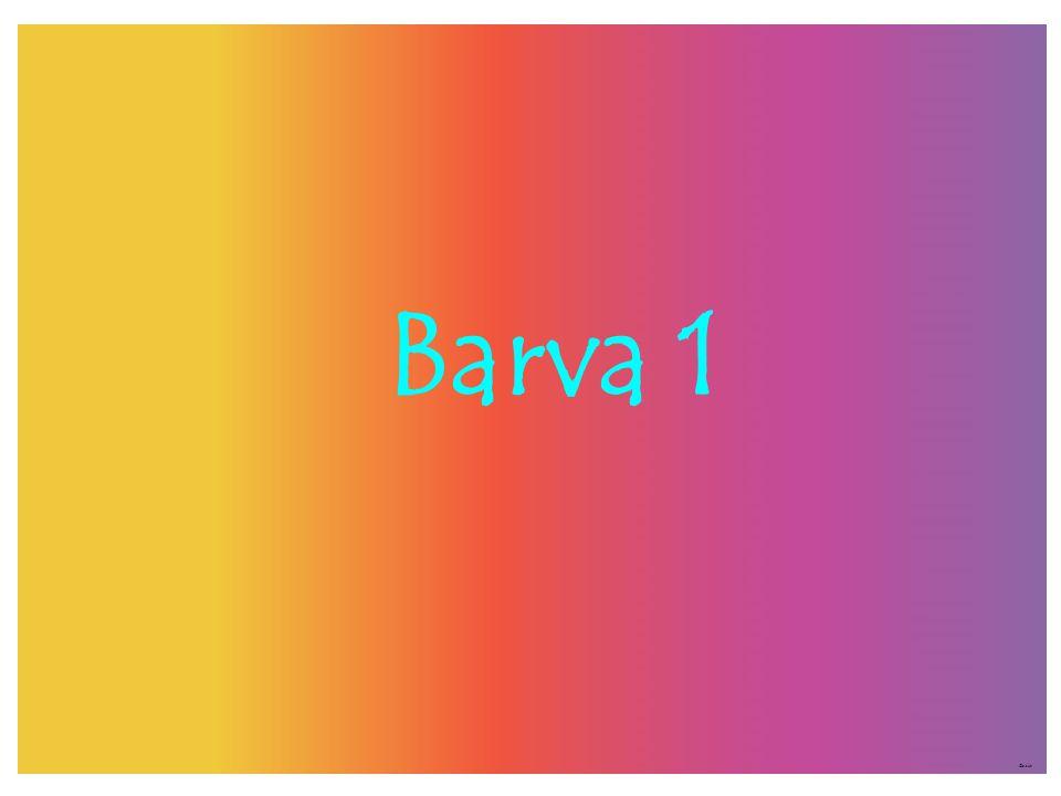 Barva 1 ©c.zuk