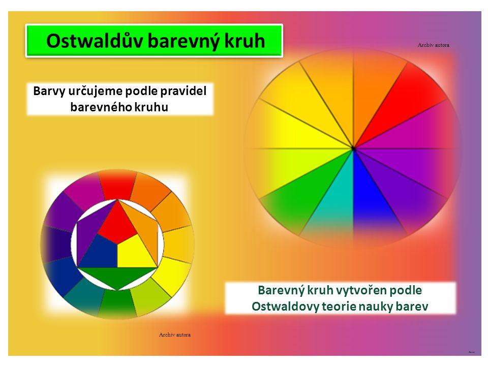 ©c.zuk Pojetí barvy RYB, RGB Tradiční výtvarné pojetí barev s primárními barvami označovanými anglicky RYB, tj.