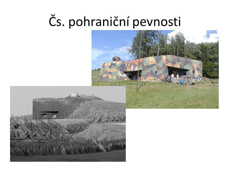 Čs. pohraniční pevnosti