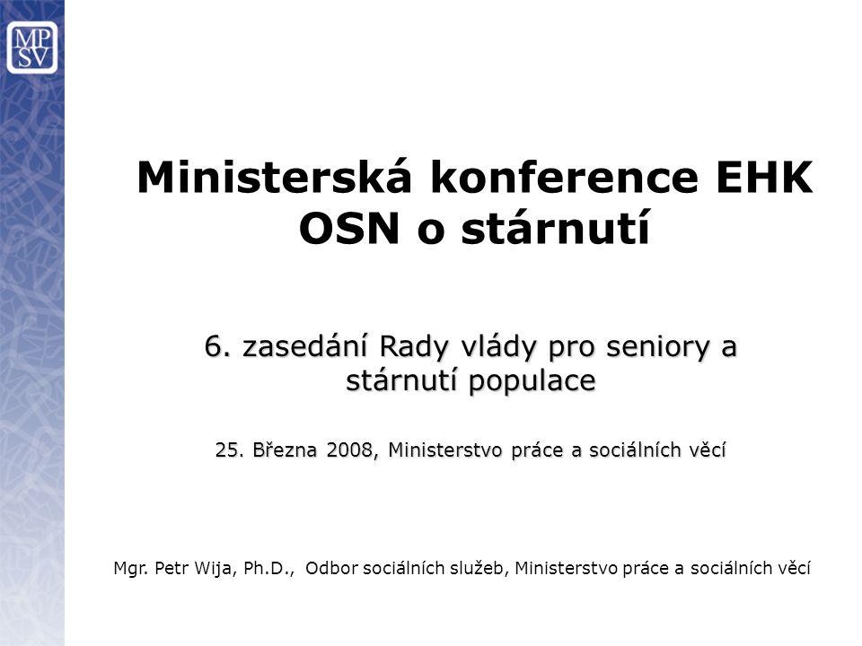 Mgr.Petr Wija, Ph.D., Odbor sociálních služeb, Ministerstvo práce a sociálních věcí 6.