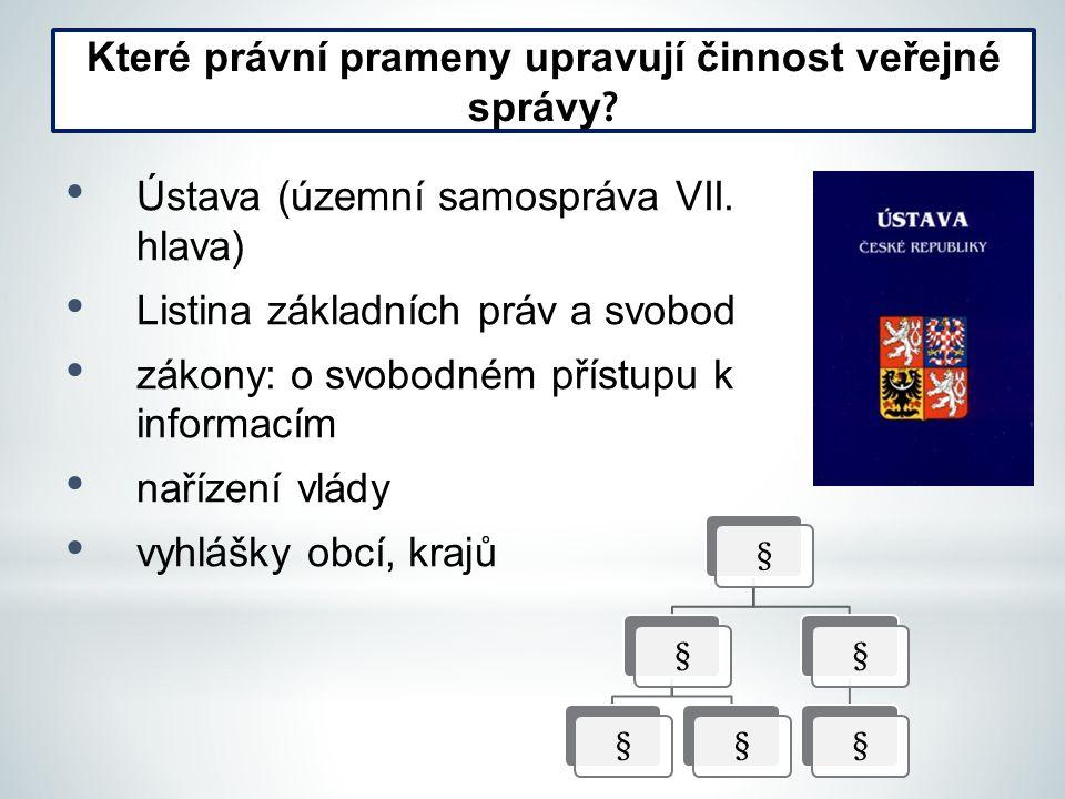 Ústava (územní samospráva VII.