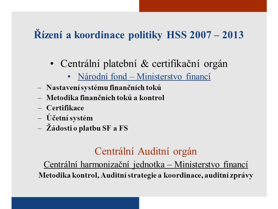 Centrální platební & certifikační orgán Národní fond – Ministerstvo financí –Nastavení systému finančních toků –Metodika finančních toků a kontrol –Ce