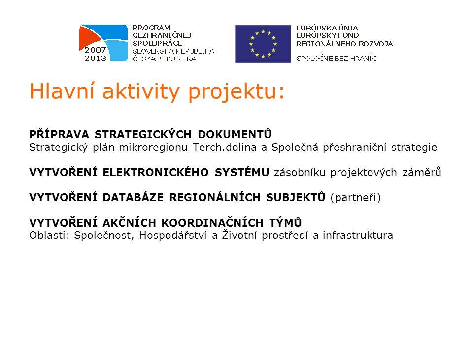 Hlavní aktivity projektu: ŠKOLENÍ ČLENŮ AKČNÍCH KOORDINAČNÍCH TÝMŮ projektový management, Ev.