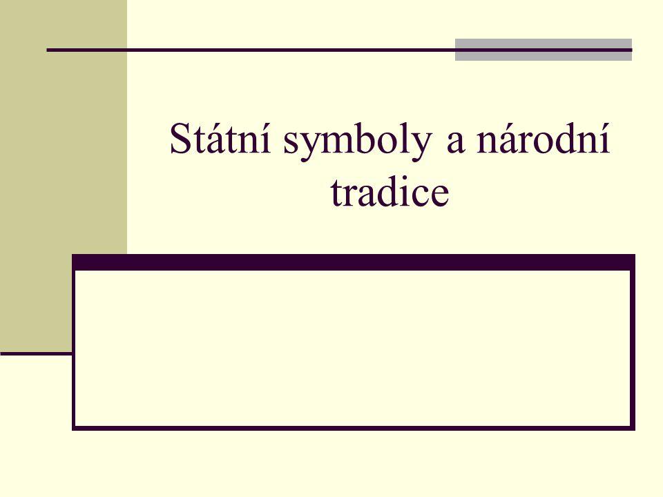Státní symboly a národní tradice