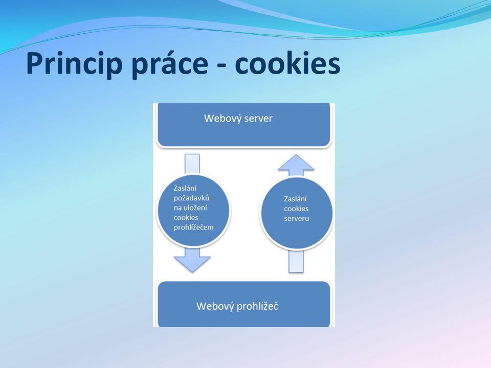 PHP a cookies Funkce SetCookie Čtení cookie