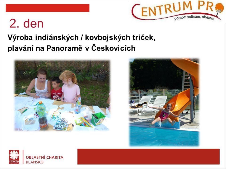 3. den Celodenní výlet do Westernového městečka, Boskovice: ztracený svět dinosaurů, hry pro děti