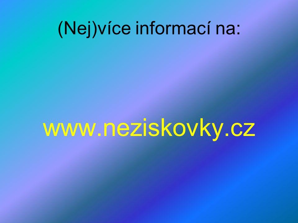 (Nej)více informací na: www.neziskovky.cz