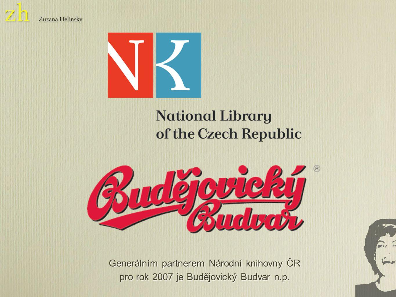 Generálním partnerem Národní knihovny ČR pro rok 2007 je Budějovický Budvar n.p.