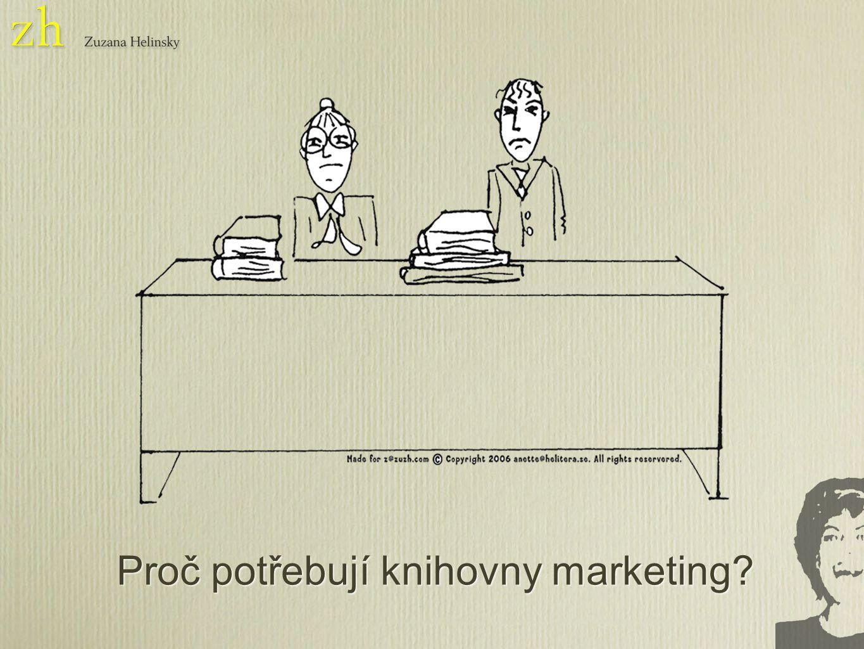 Proč potřebují knihovny marketing