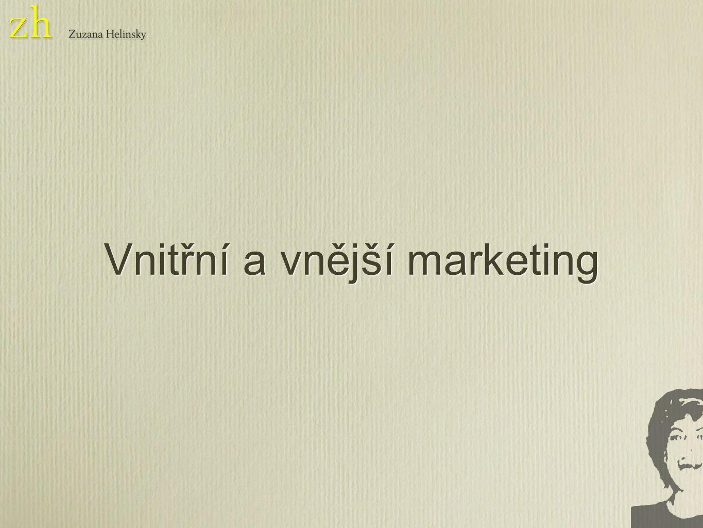 Je spousta druhů marketingu ale je jasné že musíme být aktivnější a hlavně zahrnout do tohoto procesu všechny zaměstnance