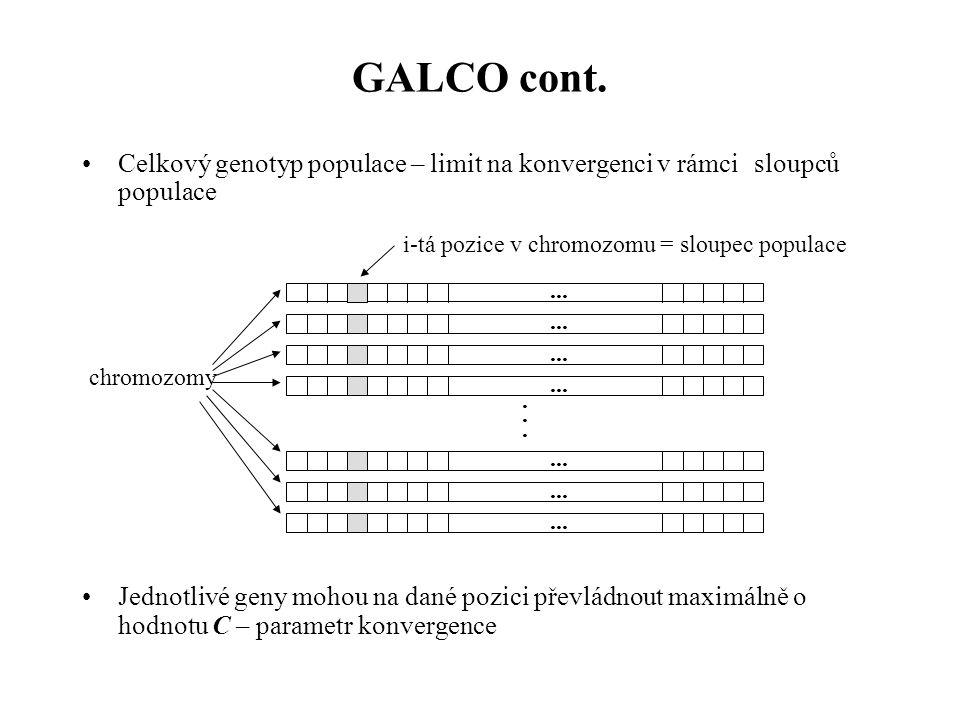 GALCO cont.