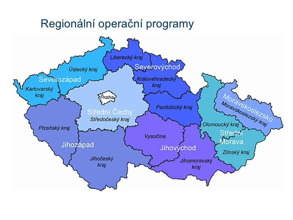 Regionální operační programy
