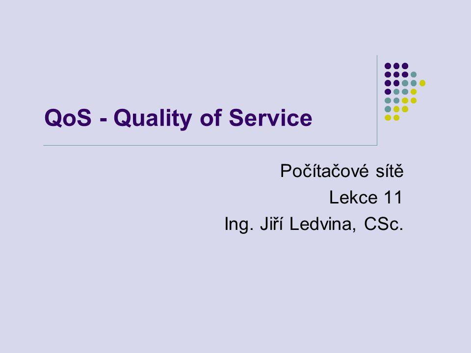 QoS - Quality of Service Počítačové sítě Lekce 11 Ing. Jiří Ledvina, CSc.