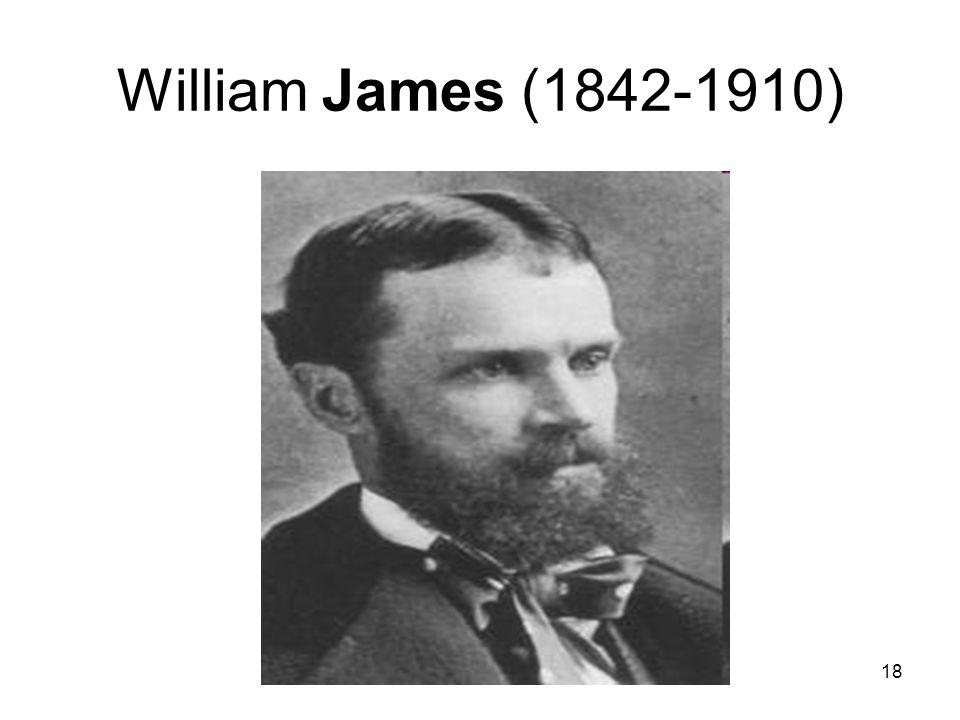 18 William James (1842-1910)