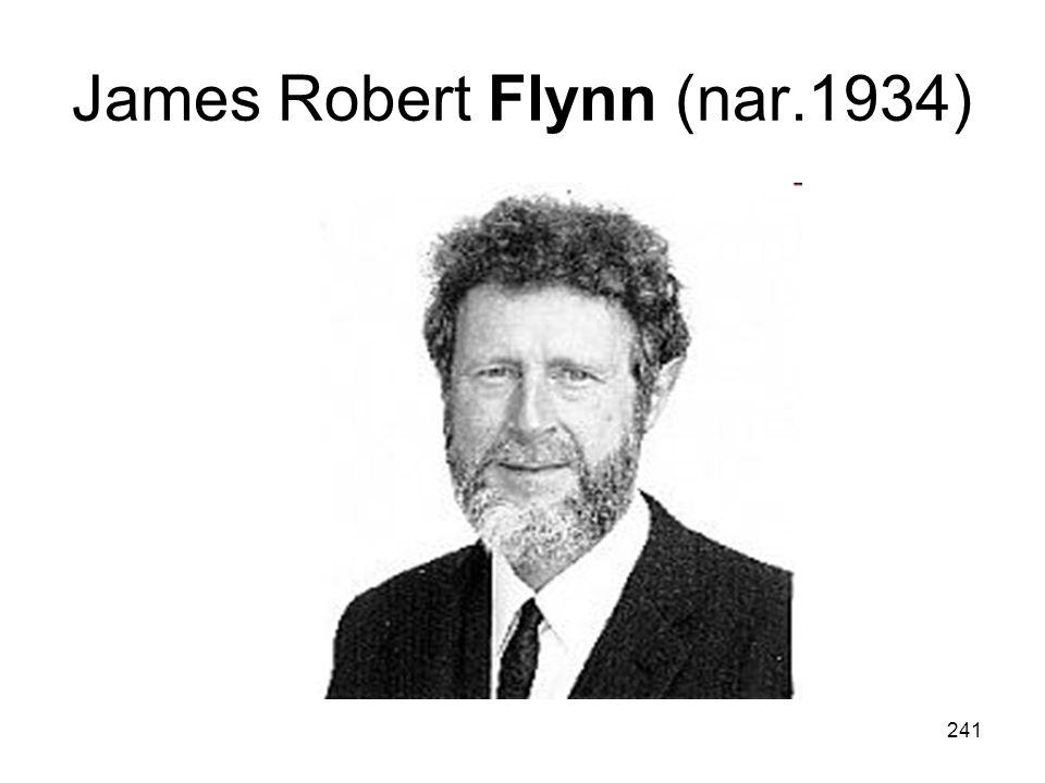 241 James Robert Flynn (nar.1934)