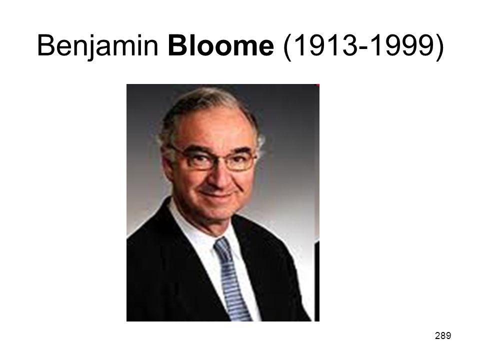 289 Benjamin Bloome (1913-1999)