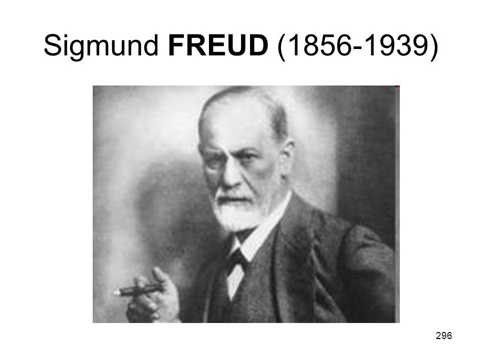 296 Sigmund FREUD (1856-1939)