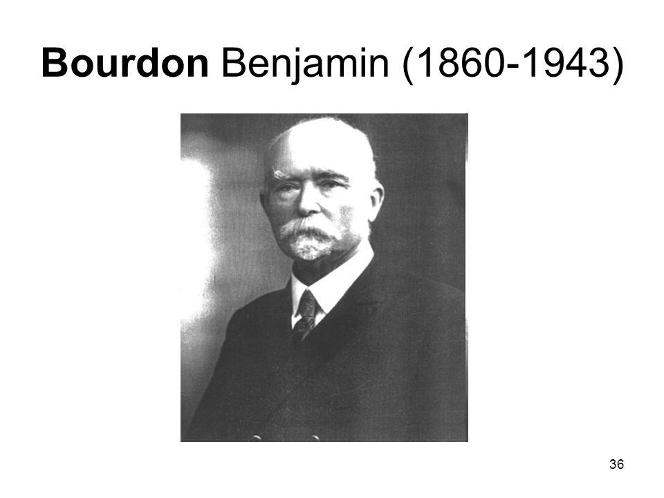 36 Bourdon Benjamin (1860-1943)