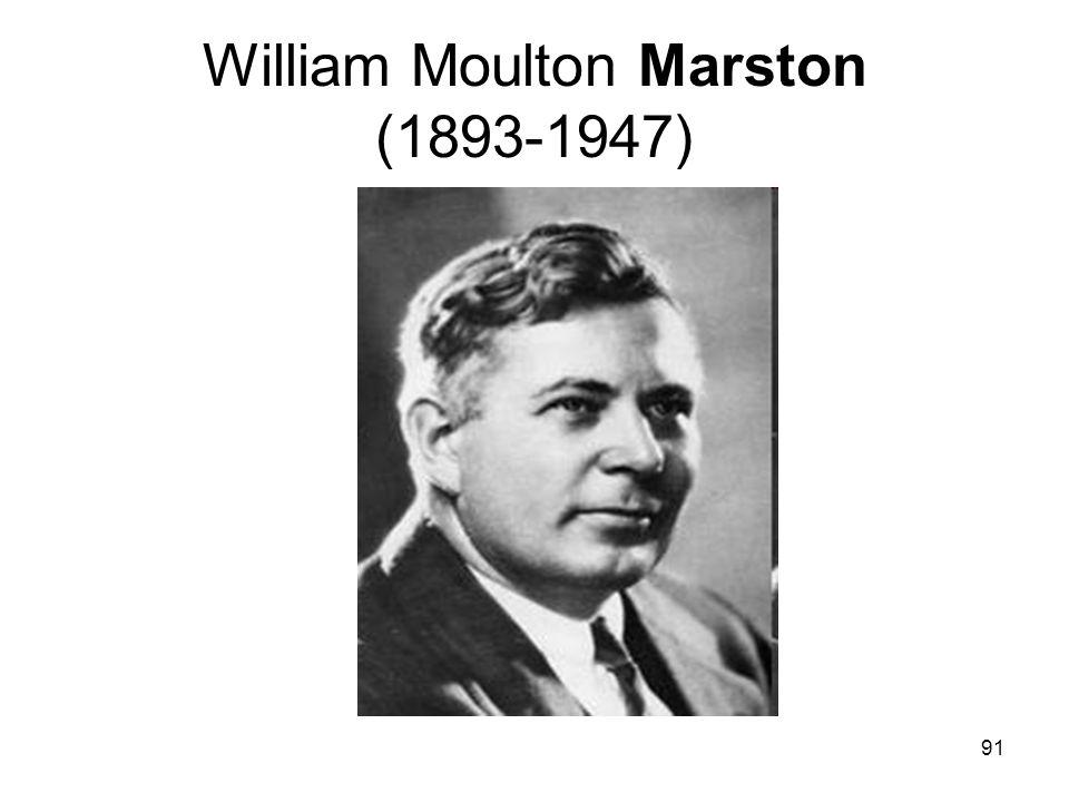 91 William Moulton Marston (1893-1947)