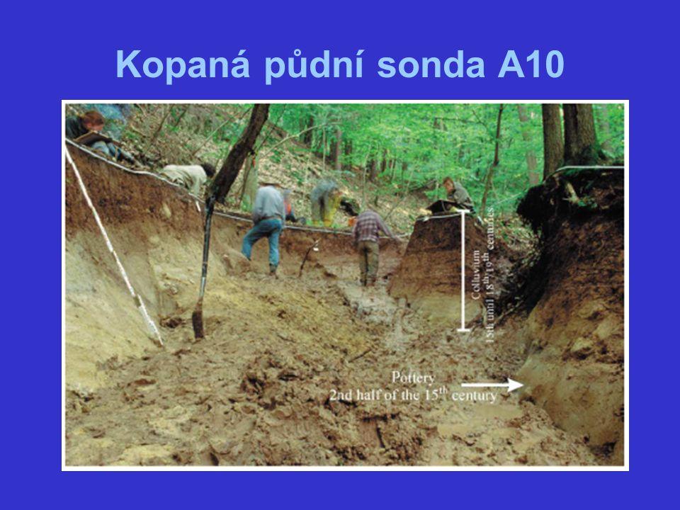 Kopaná půdní sonda A10