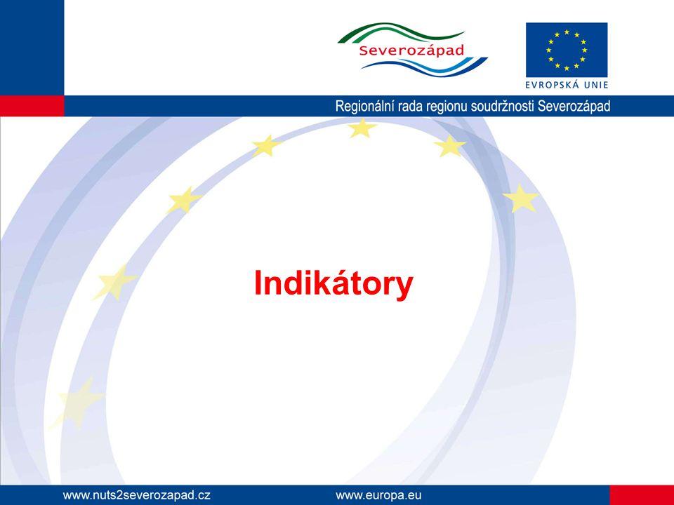 Úvod Indikátor = kvantifikovaný ukazatel potřebný k zjištění výstupu/výsledku projektu Indikátory projektu jsou jedním z podkladů pro hodnocení projektu (viz příloha č.