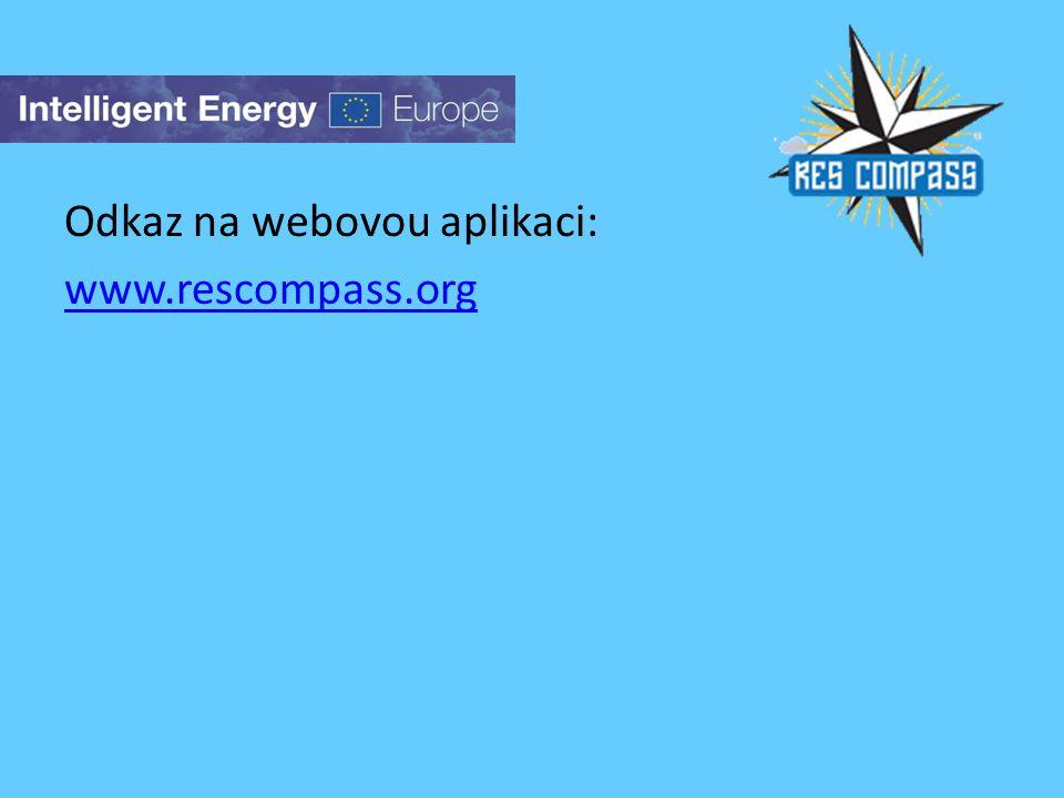 Odkaz na webovou aplikaci: www.rescompass.org