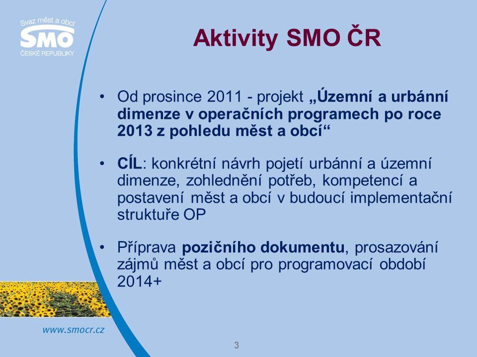 4 Kategorizace území 1.Urbánní dimenze I: národní póly růstu jako klíčové ekonomické zóny a) 5-7 největších aglomerací (ITI) b) města nebo aglomerace (IPRU I) 2.Urbánní dimenze II: tzv.