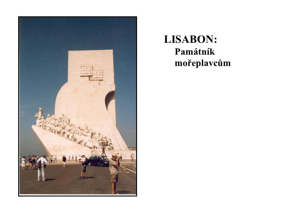 LISABON: Památník mořeplavcům