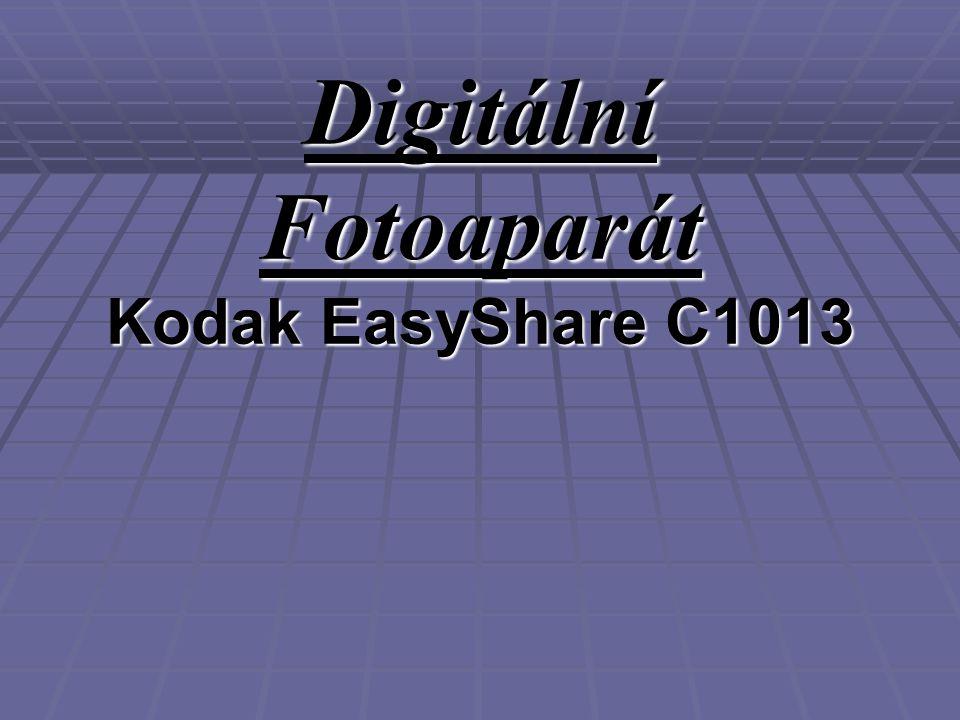 Digitální Fotoaparát Kodak EasyShare C1013