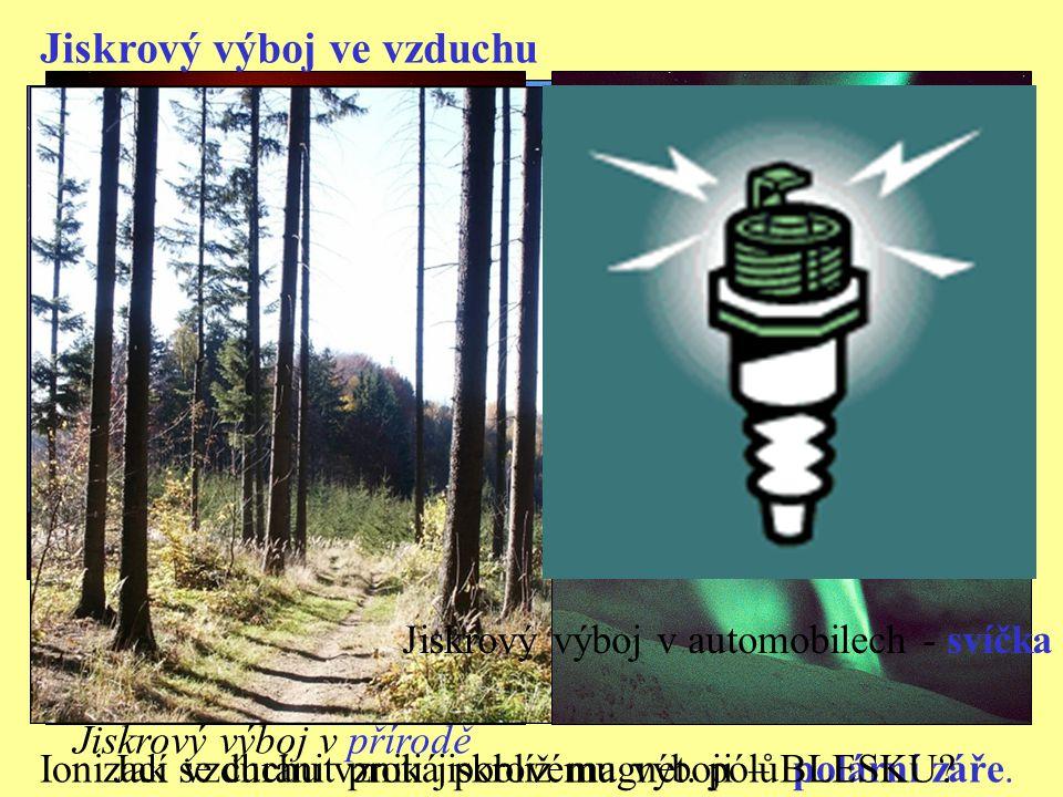 2) elektrický oblouk Aby vznikl obloukový výboj, musí se nejprve zahřátím ionizovat vzduch mezi elektrodami.
