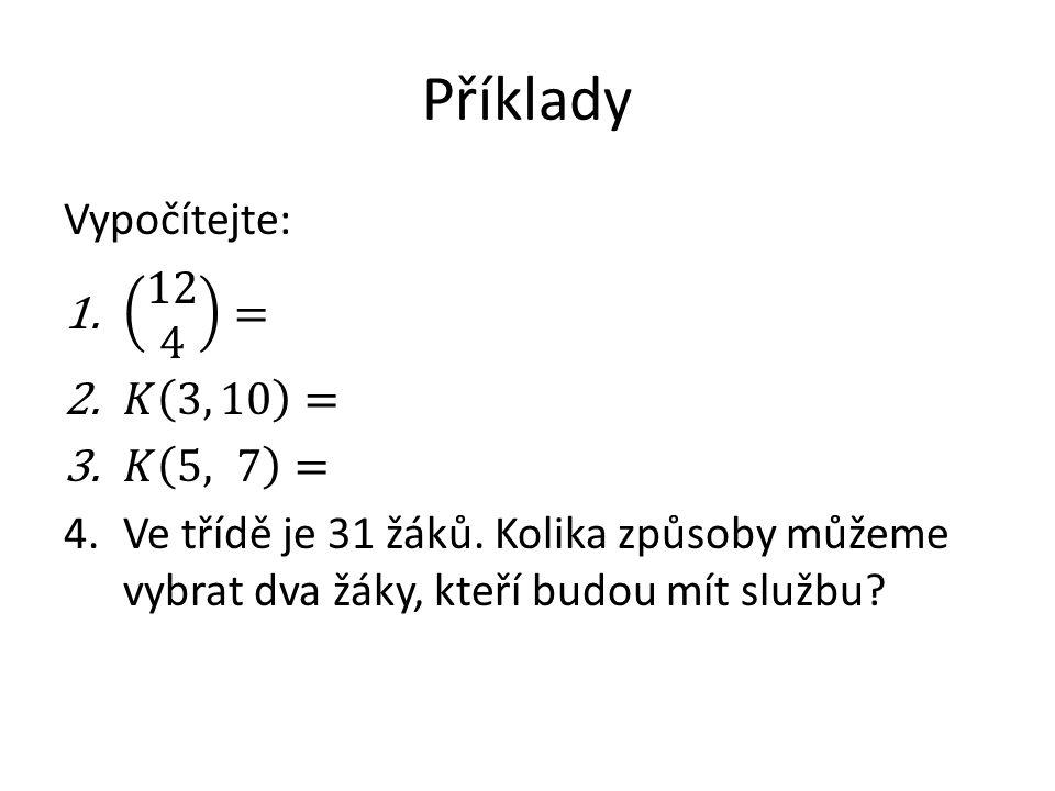 Zdroje CALDA, Emil, DUPAČ, Václav.Matematika pro gymnázia.