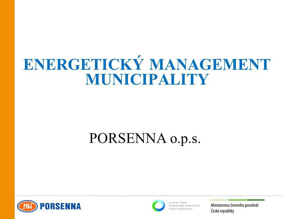 ENERGETICKÝ MANAGEMENT MUNICIPALITY PORSENNA o.p.s.