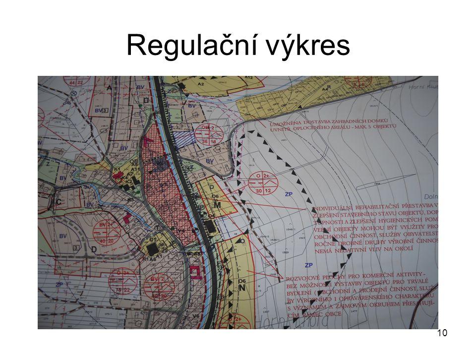 Regulační výkres 10
