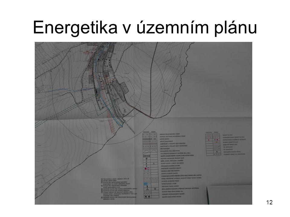 Energetika v územním plánu 12