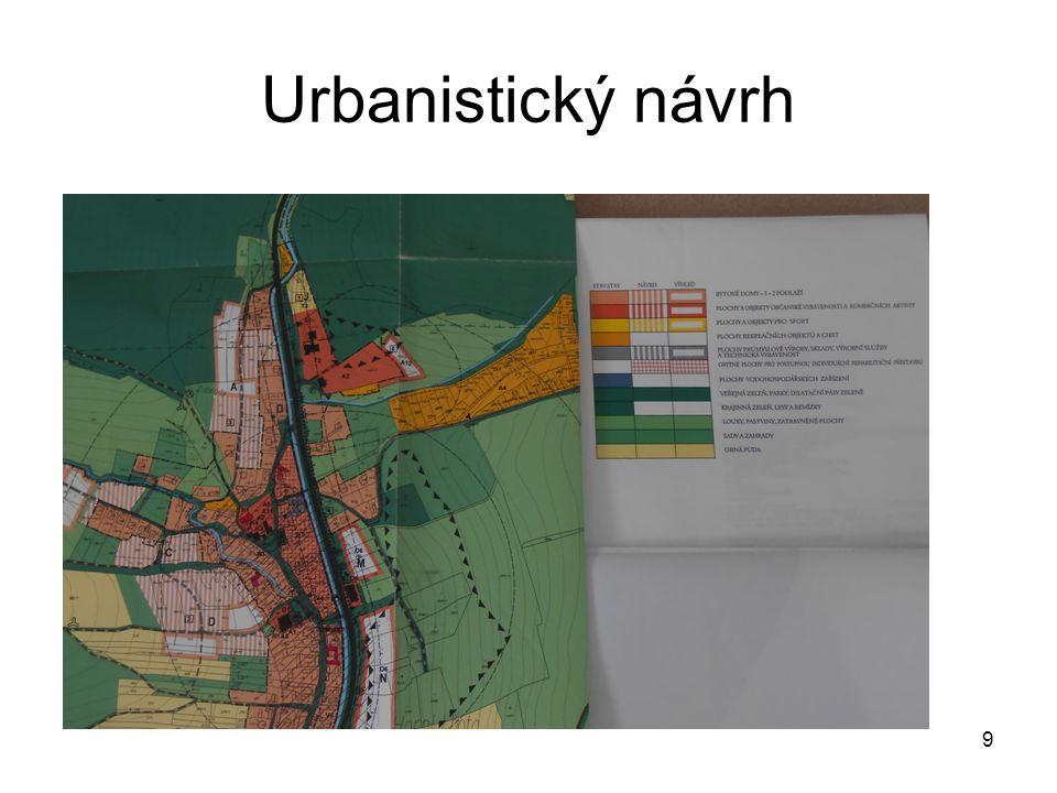 Urbanistický návrh 9