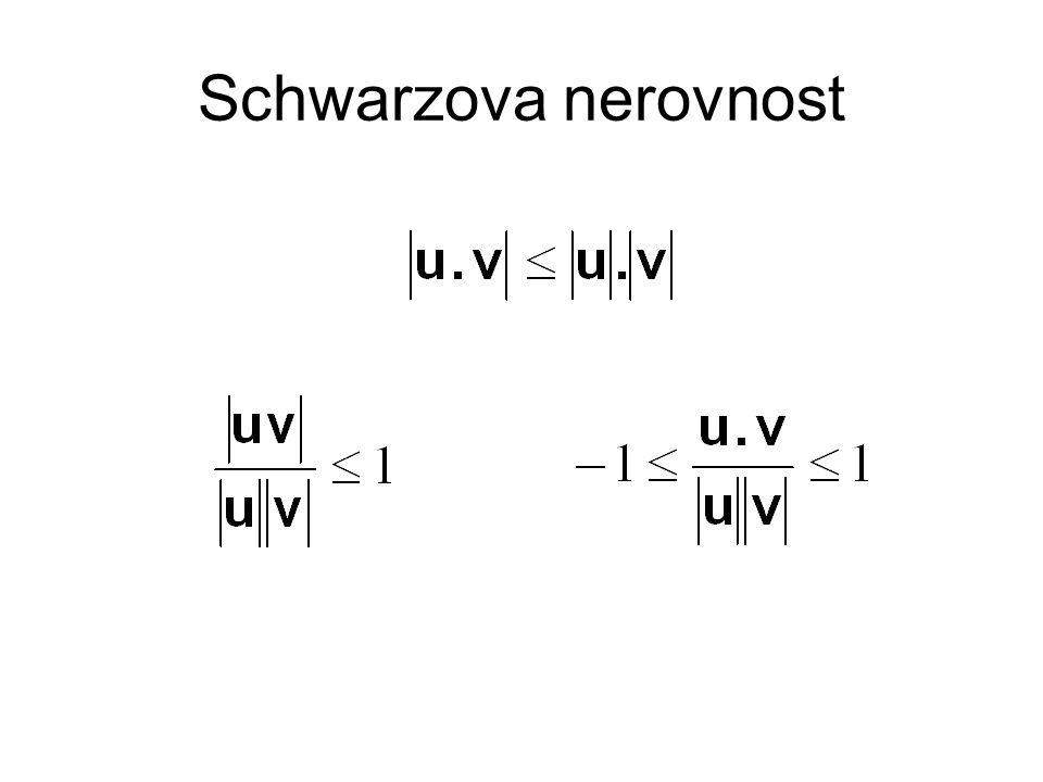 Schwarzova nerovnost