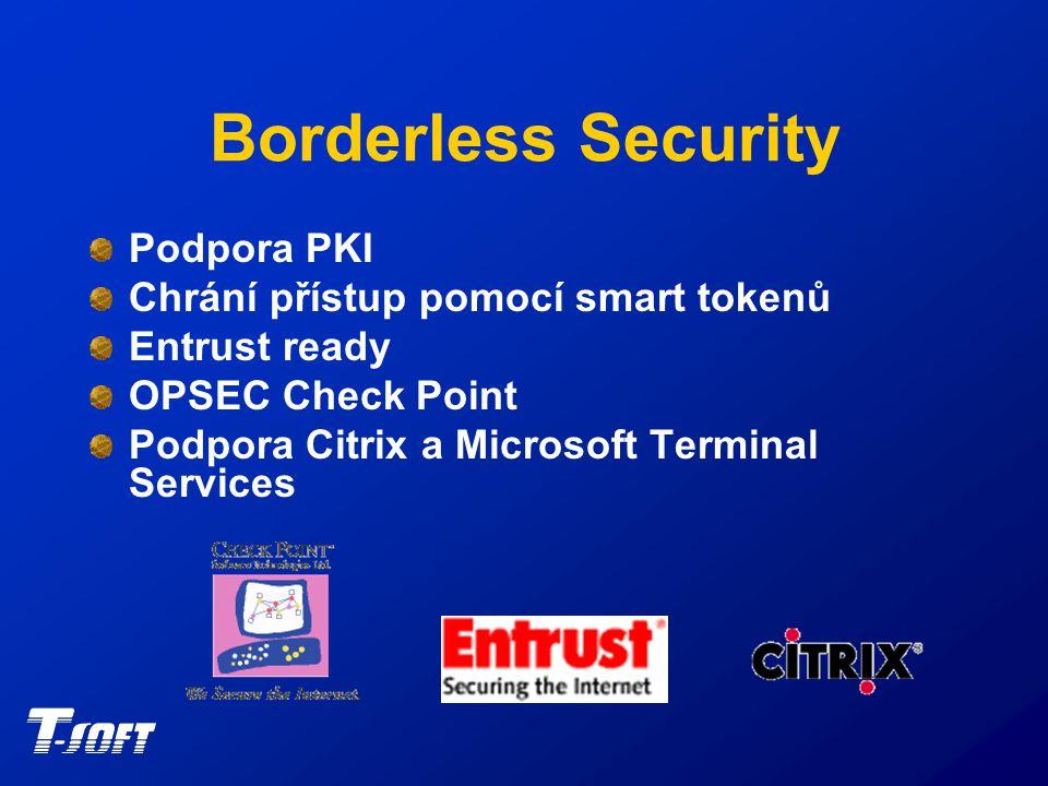Borderless Security Deploy Rapid Technology Single Sign-On Ovládání všech hesel uživatele Nasazení politiky silných hesel