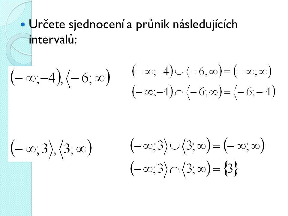 Zdroje: Polák J.: Přehled středoškolské matematiky.