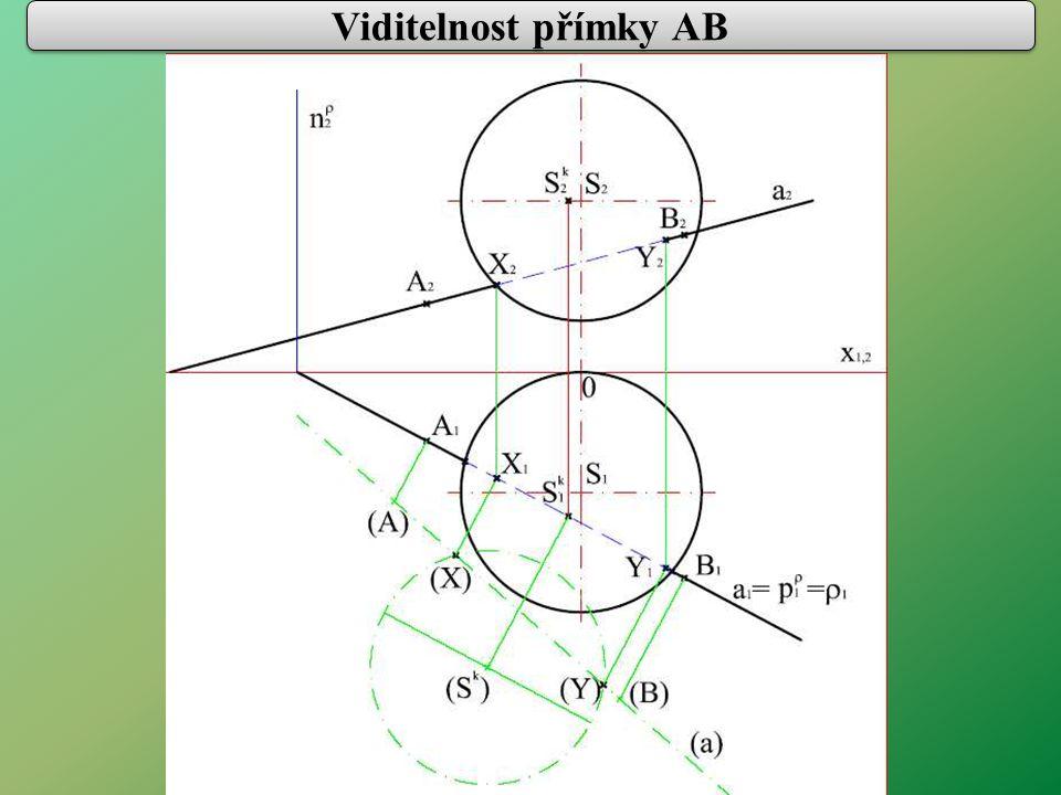 Viditelnost přímky AB